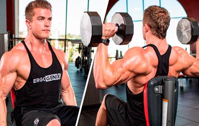 Тренировка плечей. 5 базовых упражнений. Ошибки.