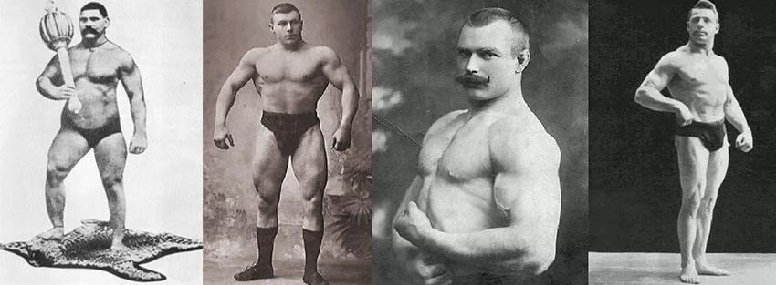 Культуристы до эры стероидов